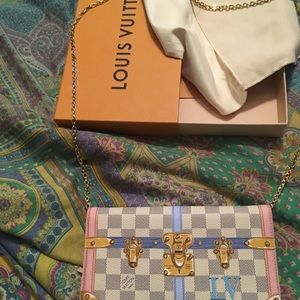 Louis Vuitton Crossbody Limited addition purse